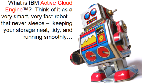 Active Cloud Engine with Robot